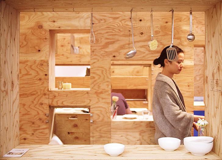 Un apartament modulabil in functie de nevoile spatiale ale locatarilor