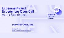 Dialog si schimb de experienta intre arhitecti si artisti la Agora Experiments - proiect colateral al Trienalei de Arhitectura