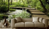 Adu pădurea în casa ta 5 idei pentru decorarea pereților O regula importanta cand vine vorba