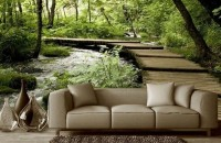Adu pădurea în casa ta:  5 idei pentru decorarea pereților