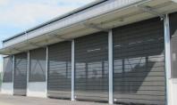 Ușa flexibilă pentru agricultură Huesker Faltfront În plus fermele zootehnice necesită uși industriale cu rezistență înaltă