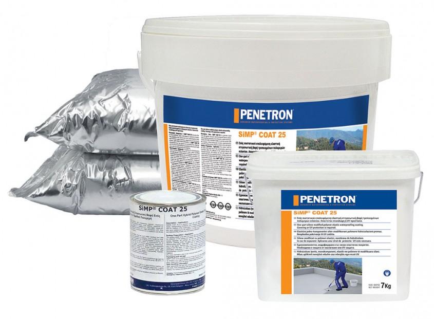 Protecție împotriva umidității din băi, bucătării și balcoane cu Penetron Simp Coat 25