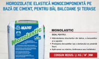 Monolastic - hidroizolatie elastica monocomponenta pe baza de ciment pentru bai balcoane si terase Hidroizolarea bailor