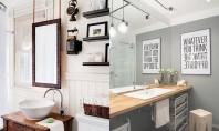 Idei pentru oglinzi deosebite in sala de baie Sala de baie trebuie sa fie una din