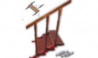 """Fă-ți singur scara! Cu elementele turnate pentru scara modulară """"ADCRIST"""" Elementele sunt din aliaj aluminiu dur"""