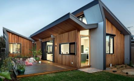 O viață de familie fericită într-o casă eficientă din punct de vedere energetic, în Melbourne