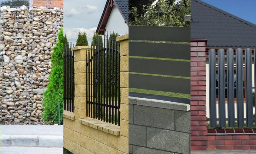 Cele mai populare tipuri de garduri în 2019