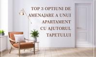 TOP 3 opțiuni de amenajare a unui apartament cu ajutorul tapetului Atunci când alegeți tapetul pentru