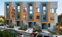 Locuintele Roxbury E+, arhitectura moderna si eficienta energetica la pret accesibil Biroul de proiectare ISA din Boston a castigat concursul organizat de primarie care cerea realizarea unui set de patru locuinte insiruite, cu trei niveluri, pentru un teren liber din cartierul Roxbury.