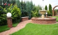 Caramida Brikston - inspiratie pentru gradina Caramida Brikston poate fi utilizata cu succes pentru a decora