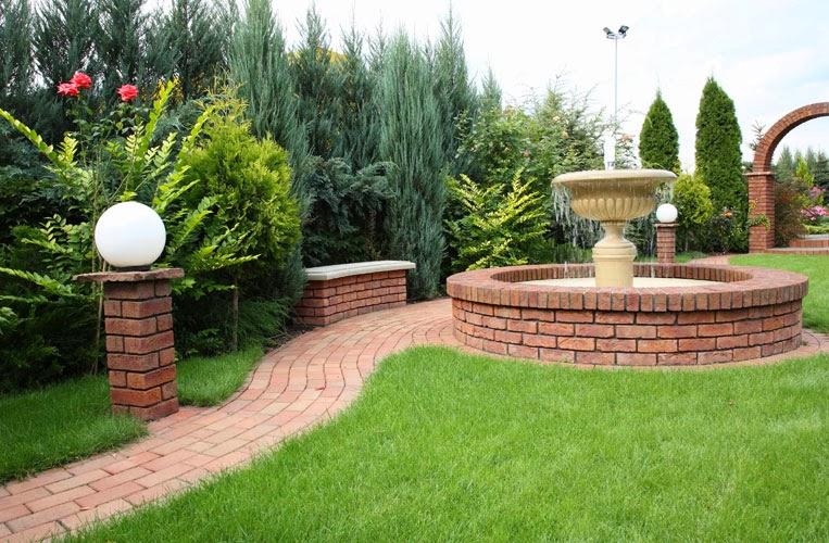 Caramida Brikston - inspiratie pentru gradina