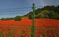 Stalpii rotunzi - potriviti pentru orice tip de gard metalic