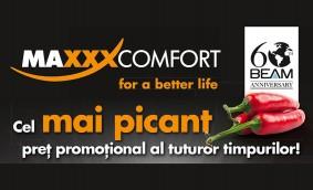 MAXXXCOMFORT - marea promoție aniversară BEAM 60!