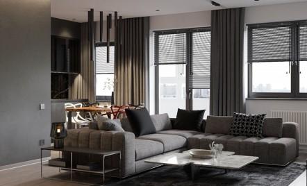 Culoarea gri în casă îți poate aduce mai multă liniște