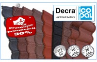 Promotia primaverii de la ExpoTest Construct - 30% discount la toate profilele Decra!