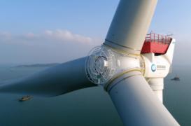Cea mai mare turbină eoliană offshore din lume poate alimenta 20.000 de locuințe pe an