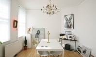 Design modern pentru un apartament din Londra Carl si-a construit cariera organizand si avand in grija