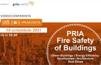 Pria Fire Safety of Buildings singurul eveniment ce aprofundează tematica siguranței clădirilor la incendiu în România