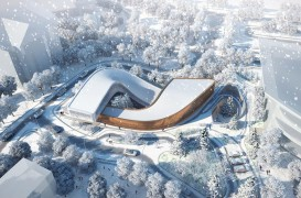 Jocurile Olimpice de Iarnă din 2022 vor avea un centru olimpic care oglindește pârtiile de ski din jur
