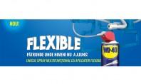 WD-40 FLEXIBLE - spray-ul care pătrunde unde niciun alt produs nu a ajuns Gama WD-40 Multi–Use