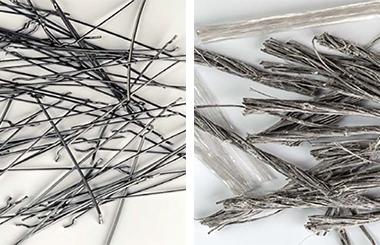 Fibre metalice si fibre din polipropilena pentru armarea betoanelor