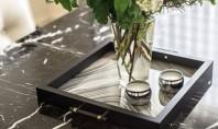 De la rama pentru fotografii la tava decorativa Tavile decorative pot fi o sugestie chic pentru