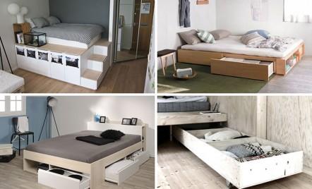 Idei pentru depozitarile de sub pat
