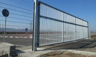 A doua poarta batanta de mari dimensiuni finalizata la Kaufland Logistic Turda Poarta are dimensiunile 12