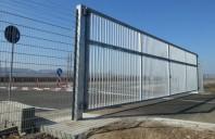 A doua poarta batanta de mari dimensiuni finalizata la Kaufland Logistic Turda