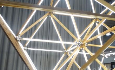 Un corp de iluminat cu LED poate lua orice forma geometrica!