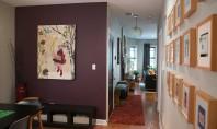 Apartament cu interioare elegante dar confortabile Fiecare camera din apartamentul confortabil din Chicago Charles a decis