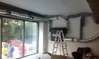 Ventilatie controlata cu Atrea  - Cafenea din zona Dorobanti, Bucuresti Pentru o ventilatie controlata a cafenelei, s-a folosit o unitate Atrea de 400 m3/h, Duplex Easy 400, control automat.
