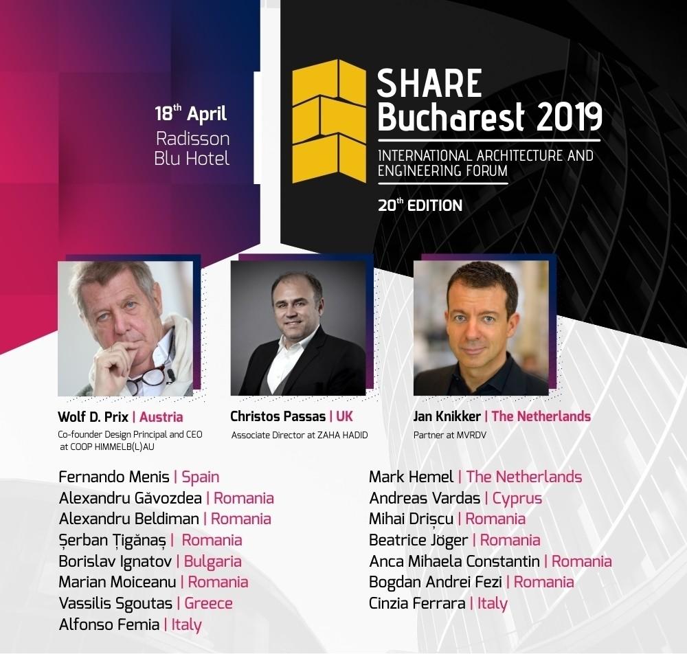 Proiecte românești de jumătate de miliard de euro, prezentate în premieră la SHARE București 2019