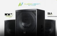 Designul boxelor KV2 Audio care utilizează tehnologia SLA