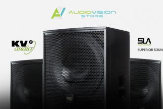 Designul boxelor KV2 Audio ce utilizează tehnologia SLA
