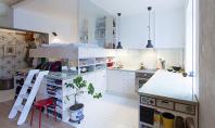 Renovarea unui mic apartament in care sa incapa cele necesare Micul apartament din Stockholm a fost