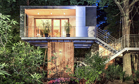 Ati da la schimb apartamentul din oras pentru o casa in copac?