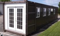 Locuințe prefabricate, din containere de transport mărfuri, ce pot fi cumparate online