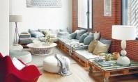 Mobilierul realizat din paleti accent industrial pentru interioare Mobilierul din paleto este preferatul multor persoane intreprinzatoare