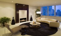 Design modern confort sporit tehnologie avansata - semineul Fire Line Automatic 3 de la Planika Semineul