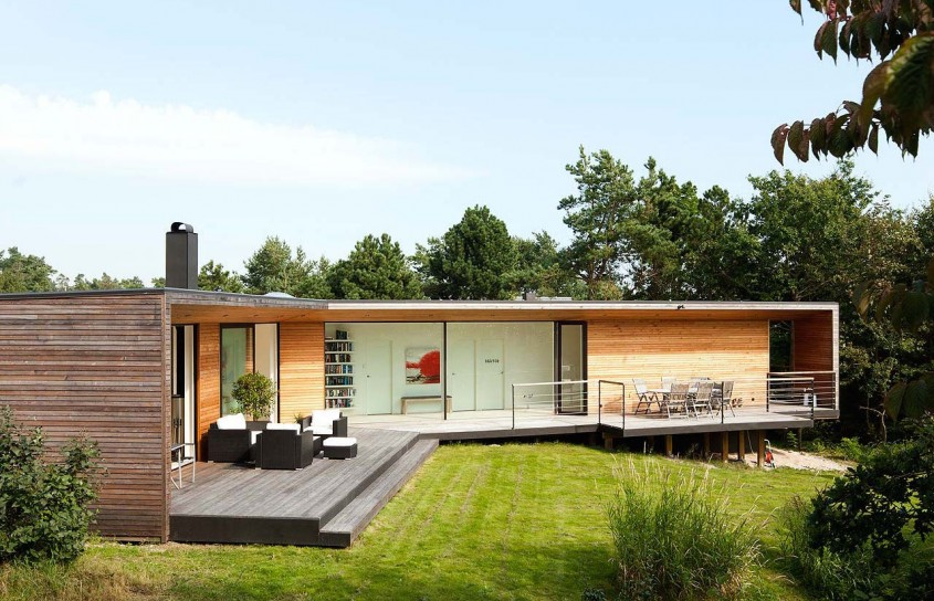 Vila Ladybird, o casa de vacanta eleganta deschisa spre natura inconjuratoare