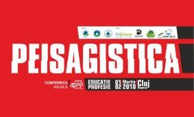 Peisagistică - Educație și Profesie. Conferința anuală AsoP România, în martie la Cluj-Napoca