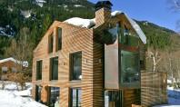 Adapost alpin transformat intr-un adevarat conac O veche structura lasata in paragina in valea Chamonix-Mont-Blanc avea
