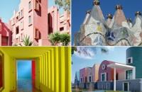 7 arhitecți care s-au exprimat prin culoare