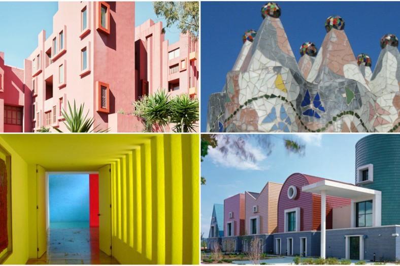 7 arhitecți cărora nu le-a fost frică de culoare