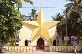 Bisericile viu colorate, cu forme surprinzătoare, din sudul Indiei
