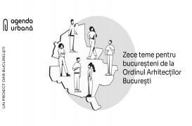 OAR Bucureşti lansează Agenda urbană – 10 teme pentru București