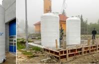 Rezervorul vertical suprateran, soluția ideală pentru depozitarea lichidelor deasupra solului