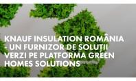 Knauf Insulation – furnizor de soluţii verzi pe platforma Green Homes Solutions