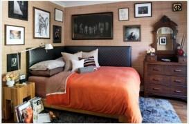 Eficientizati spatiu, pozitionati patul pe o latura a camerei